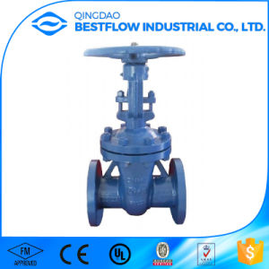 Cast Iron Knife Gate Valves with Flow Direction Pn10 pictures & photos
