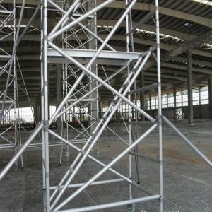 Aluminium Scaffold for Structural Building pictures & photos