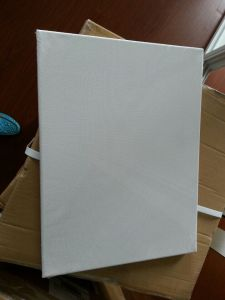 "Professional8*16"" 3.7*3.8cm Thickness 280canvas Pinewood Stretched Canvas (back stapled) pictures & photos"