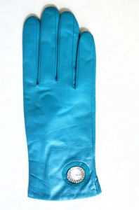 Lady Fashion Leather Gloves (JYG-24072) pictures & photos