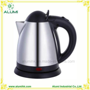 Hotel 0.8L Stainless Steel Cordless Electric Kettle with Brush Finished pictures & photos