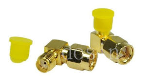 RF Connector Right Angle SMA Male Plug Wire Connector pictures & photos