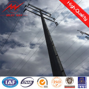 Galvanized Polygon Power Pole pictures & photos