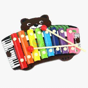 Little Bear Band Knocks Little Wooden Xylophone Toys pictures & photos