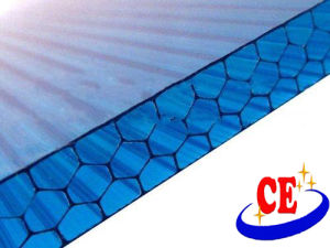 High Quality Polycarbonate (PC) Honeycomb Hollow Sheet with UV Protection