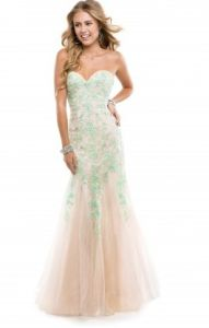 Green Mermaid Lace Wedding Cocktail Party Prom Evening Dresses