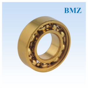 Deep Groove Ball Bearing (Titanium Coating) pictures & photos
