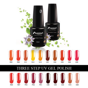 Easy Soak off Three Steps15ml UV Gel Polish Color UV Gellack Nail Beauty pictures & photos
