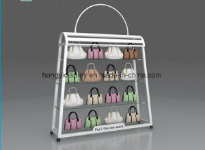 Custom Retail Store Lady Bag Display Cabinet, Handbag Store Design and Decoration, Wholesale pictures & photos