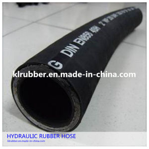 High Pressure Hydraulic Rubber Hose with Hydraulic Fitting pictures & photos