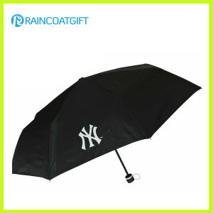 Custom Screen Printng Advertising Promotional Luxury Folding Rain Umbrella pictures & photos