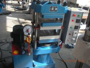 100t Plate Vulcanizer/Plate Vulcanizing Press Machine pictures & photos