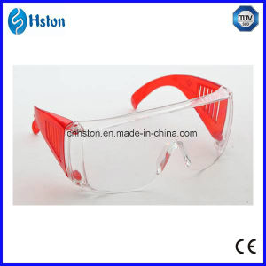 Dental Orange and Transparent Anti-Fog Glasses pictures & photos