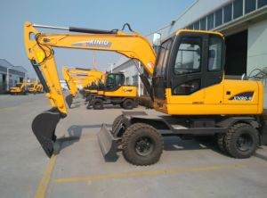 Wheel Excavator Xn80-9 for Sale in China in Asia in Brasil Germany France Spain Denmark pictures & photos