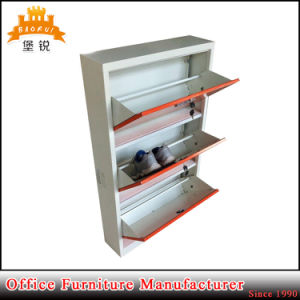 Luoyang Factory Supply Three Layer Metal Shoe Rack pictures & photos
