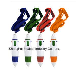 Four Colors Carabiner Multicolor Pen Zl1021c