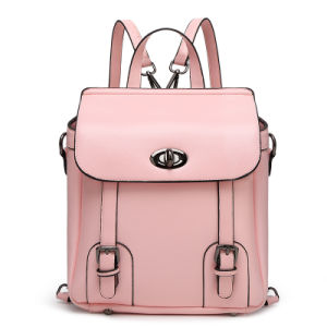 2016 Wholesale High Quality Fashion Women Leather Backpack pictures & photos