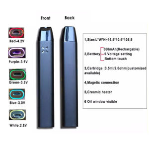 Popular E-Cigarette with Ceramic Coil Support OEM/ODM pictures & photos