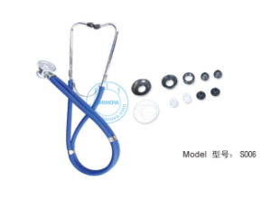 Multifunctional Stethoscope (S006) pictures & photos