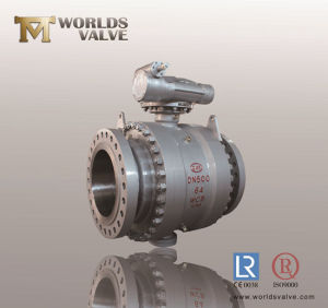 Wcb High Performance Flanged Ball Valve pictures & photos