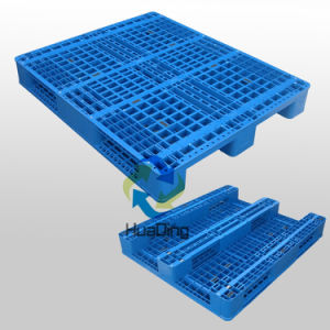 Standed Specification 1200X1000 HDPE Virgin Material Heavy Duty Plastic Pallet pictures & photos