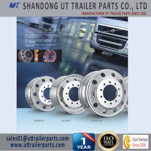 24.5′′ Polished Trailer Aluminum Wheel Rim European & American Type pictures & photos
