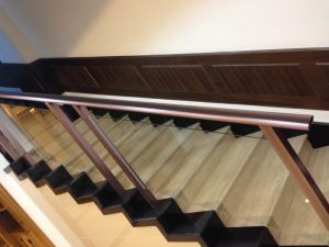 High Quality Aluminum Handrail Profiles for Decoration Material