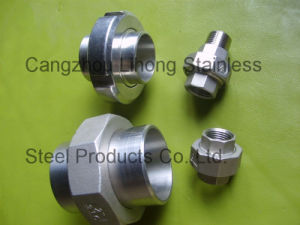 "3/8"" Stainless Steel 316 DIN2999 Union Flat F/F pictures & photos"