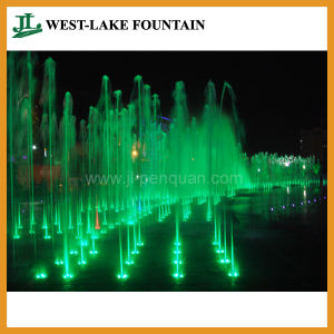 Musical Land Water Fountain with Color-Changeable LED Lighting pictures & photos