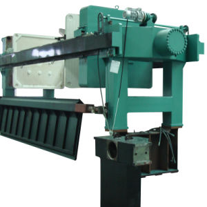 1600 Series Automatic Filter Press with DIP Tray
