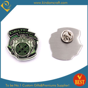 China Cheap Cutom Stainless Steel Cmyk Printing Lapel Pins/Badges for Promotion pictures & photos
