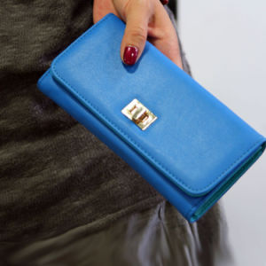 Lady Wallet with PU Leather pictures & photos