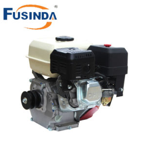 Fusinda 6.5HP Quality Gasoline Petrol Engine, 1/2 Reduction Engine with Centrifugal Clutch (keyway shaft) pictures & photos