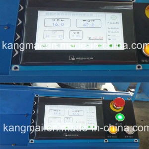 Crimping Machine Km-91h Touch Screen Type to Europe Market with CE&SGS Certificated pictures & photos