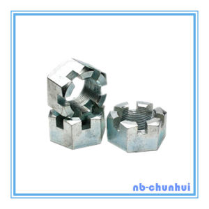 Hex Nut Hexagon Slotted Nut-7/8~1-1/8