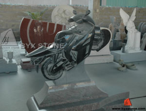 Granite Motor Shape Monument / Tombstone for Cemetery pictures & photos