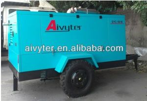Diesel Drive Portable Air Compressor for Sale (Diesel series)