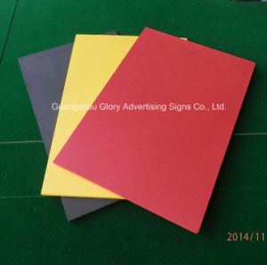Outdoor and Indoor UV Printing Plastic PVC Sheet pictures & photos
