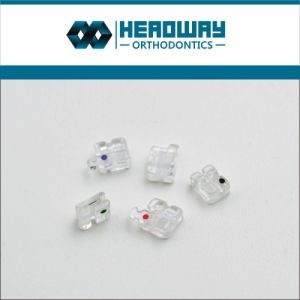 Orthodontic Sapphire Ceramic Bracket with CE pictures & photos
