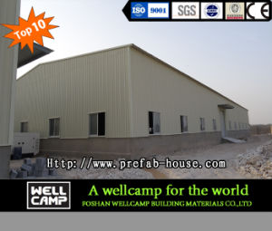 Wellcamp Hot-Sale Steel Warehouse Steel Structure Building pictures & photos