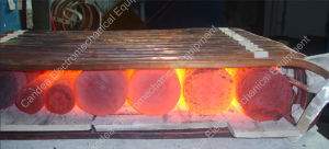 Industrial Electric Induction Heating Forging Furnace for Metal Foundry If-45kw pictures & photos