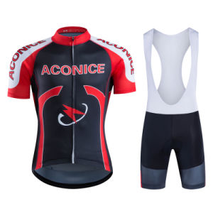 Custom Design Breathale Fabrics Sublimated Cycling Jersey Set