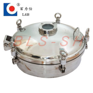 Stainless Steel Pressure Tank Manhole Cover pictures & photos