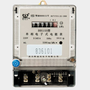 Bi-Directional Energy Meter with Anti-Tamper Function pictures & photos
