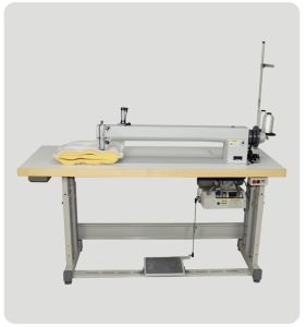 Js-3A Single Needle Long-Arm Sewing Machine pictures & photos
