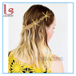 2017 Fashion Starfish Crystals Haipins Accessories pictures & photos