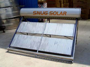 Integrated Non-Pressurized Evacuated Tube Solar Hot Water pictures & photos