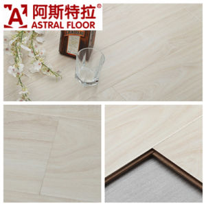 German Technical Mirror Surface (U-Groove) Laminate Flooring (AD308) pictures & photos
