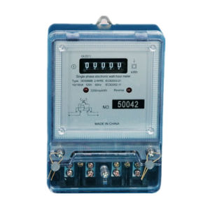 110V/220/230/240 Volt Residential Single Phase Electric Energy Meter pictures & photos