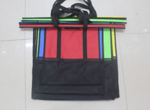 Folding Style and 600d Material Trolley Bags Shopping 4 Set pictures & photos